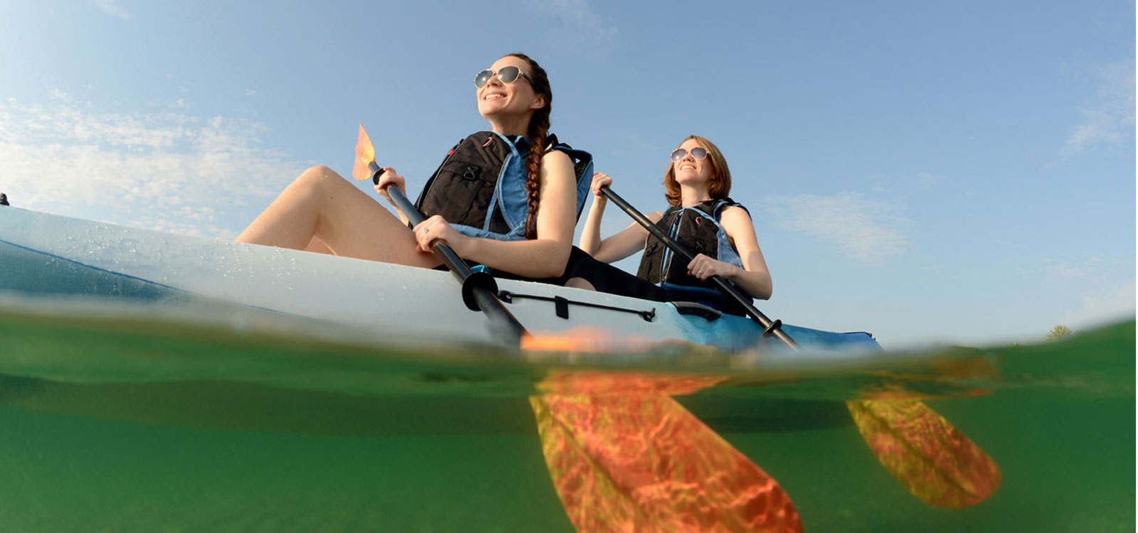 Add a Kayak Rental to your Reservation